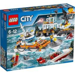 LEGO CITY 60167 Kwatera Straży Przybrzeżnej NOWOŚĆ 2017