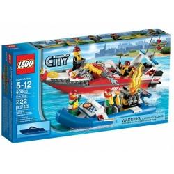 LEGO CITY 60005 Łódź Strażacka