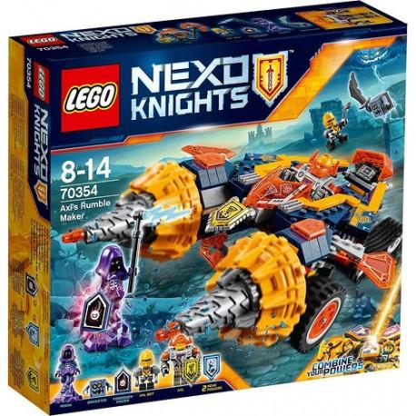 LEGO NEXO KNIGHTS 70354 Rozbijacz Axla - NOWOŚĆ 2017!