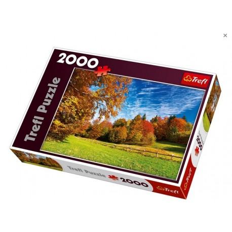 """Trefl - 27073 - Puzzle 2000 - Okolice Przełęczy """"Chwała Bogu"""" i Pieniny"""