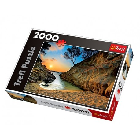 Trefl - 27048 - Puzzle 2000 - Wschód Słońca, Costa Brava, Hiszpania