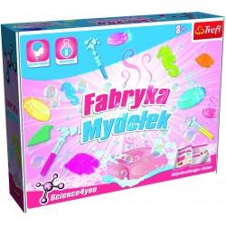 TREFL 60561 - Zestaw Naukowy - Eksperymenty Since4You - FABRYKA MYDEŁEK