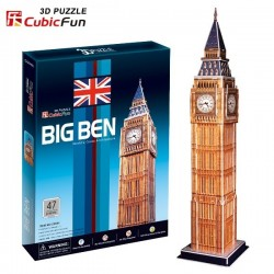 Cubic Fun - CUB01038 - Puzzle 3D 47 - Big Ben