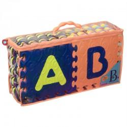 B.TOYS BX1210Z - B.Beautifloor - Mata Piankowa - Puzzle - ALFABET