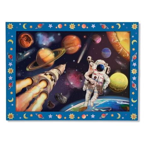 Melissa & Doug - 14008 - Naklejki - Mozaika do Wyklejania - Kosmos