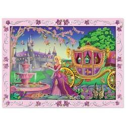 Melissa & Doug - 14009 - Naklejki - Mozaika do Wyklejania - Księżniczka
