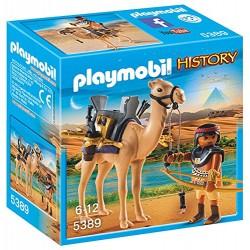 PLAYMOBIL 5389 Historia - EGIPSKI WOJOWNIK Z WIELBŁĄDEM
