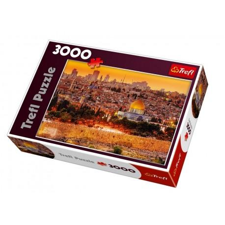 Trefl - 33032 - Puzzle 3000 - Dachy Jerozolimy