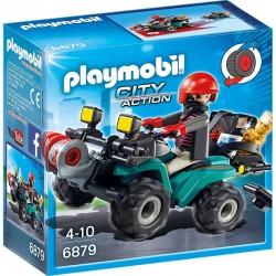 PLAYMOBIL 6879 City Action - PRZESTĘPCA Z QUADEM