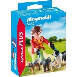 PLAYMOBIL 5380 Special Plus - OPIEKUNKA PSÓW