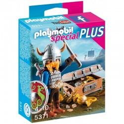 PLAYMOBIL 5371 Special Plus - WIKING ZE ZŁOTYM SKARBEM