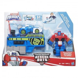 HASBRO B5584 - Playskool Heroes - TRANSFORMERS RESCUE BOTS - OPTIMUS PRIME 2w1
