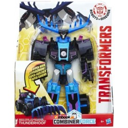 HASBRO C0877 B0067 - Robots in Disguise - TRANSFORMERS COMBINER FORCE - THUNDERHOOF