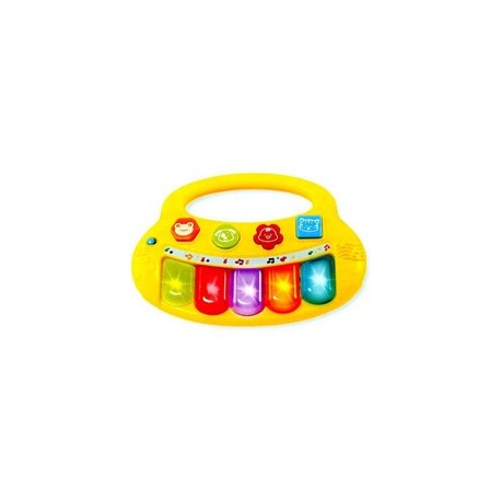 Smily Play - 2007-NL - Pianinko - Dziecięcy Keyboard - Żółty