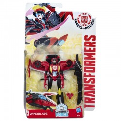 HASBRO C1079 B0070 - Robots in Disguise - TRANSFORMERS COMBINER FORCE - WINDBLADE