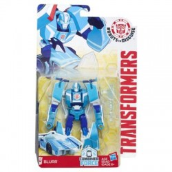 HASBRO C1081 B0070 - Robots in Disguise - TRANSFORMERS COMBINER FORCE - BLURR