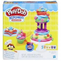 HASBRO B9741 - Ciastolina Play-Doh - Kuchenne Kreacje - LUKROWANE CIASTECZKA