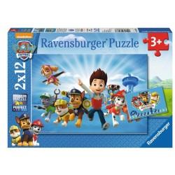 RAVENSBURGER 5864 - Puzzle 2 X 12 el. - PSI PATROL
