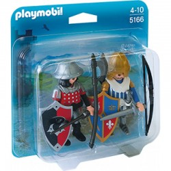 PLAYMOBIL 5166 Duo Pack - RYCERZE