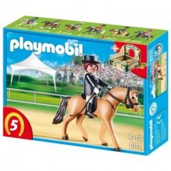 PLAYMOBIL 5111 Koń z Boksem - NIEMIECKI WIERZCHOWIEC