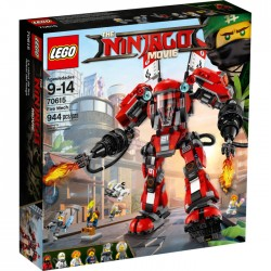 LEGO NINJAGO 70615 The Ninjago Movie - OGNISTY ROBOT - NOWOŚĆ 2017