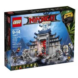 LEGO NINJAGO 70617 The Ninjago Movie - ŚWIĄTYNIA BRONI OSTATECZNEJ - NOWOŚĆ 2017