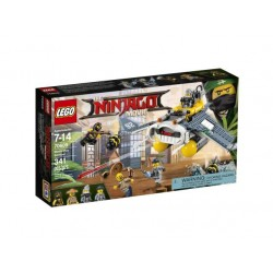 LEGO NINJAGO 70609 The Ninjago Movie - BOMBOWIEC MANTA RAY - NOWOŚĆ 2017