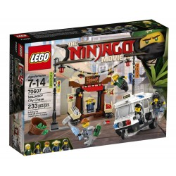 LEGO NINJAGO 70608 The Ninjago Movie - UPADEK MISTRZA - NOWOŚĆ 2017