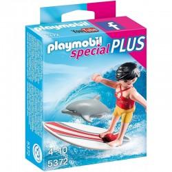 PLAYMOBIL 5372 SPECIAL PLUS Dziewczyna Serfująca z Delfinem