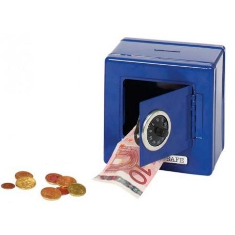 Goki - 14020 - Niebieski Sejf - Skarbonka na Kod