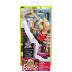 MATTEL DVF68 DWN39 - Zestaw Barbie MADE TO MOVE - Mistrzyni Sztuk Walki KARATECZKA