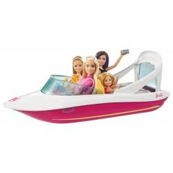 MATTEL FBD82 - Barbie i Delfiny z Magicznej Wyspy - WAKACYJNY JACHT