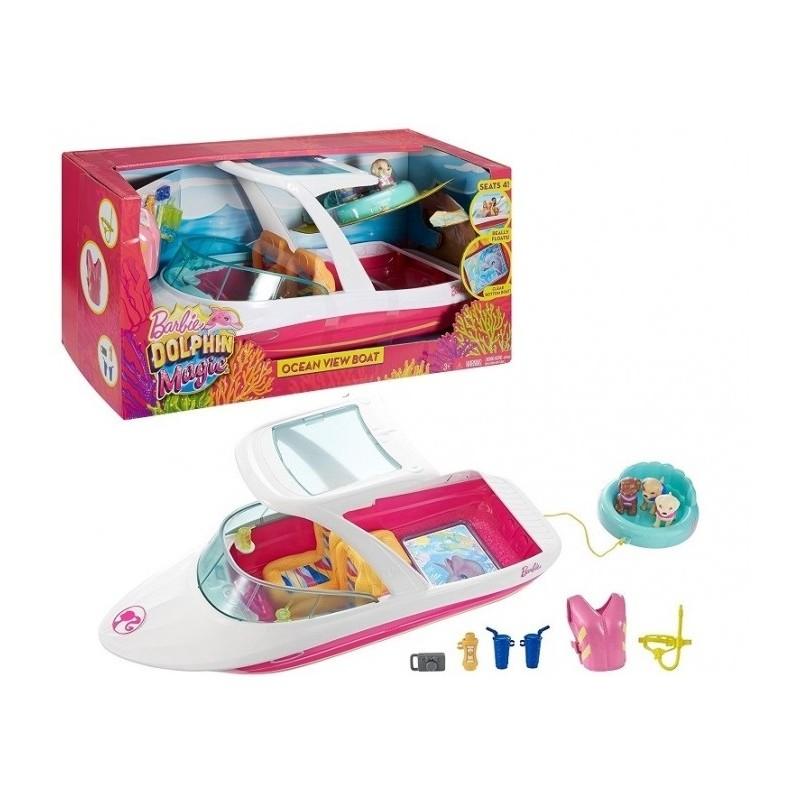 Mattel Fbd82 Barbie I Delfiny Z Magicznej Wyspy Wakacyjny Jacht