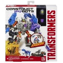 Hasbro - A6167 - Transformers - Dinobot Warriors - Lockdown i Hangnail Dino