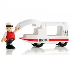 BRIO 33508 Pociąg osobowy - LOKOMOTYWA I MASZYNISTA