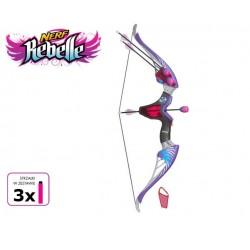 Hasbro - A8858 - NERF Rebelle - Łuk Tajnej Agentki