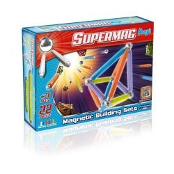 SUPERMAG MAXI Magnetyczne Klocki Konstrukcyjne NEON 22 el. 0114