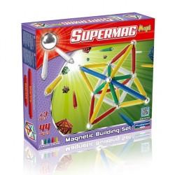 SUPERMAG MAXI Magnetyczne Klocki Konstrukcyjne CLASSIC 44 el. 0102