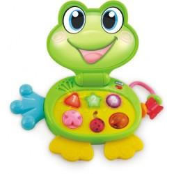 Smily Play - 8001- Laptop - Zwierzątko - Żabka