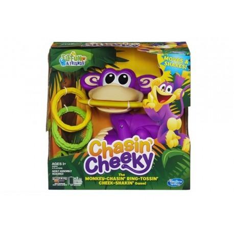 Hasbro - A2043 - Gra Zręcznościowa - Chasin' Cheeky - Uciekająca Małpka