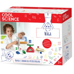 TM TOYS DKN4002 COOL SCIENCE - Zestaw Nauka i Zabawa dla Przedszkolaka - WAGA