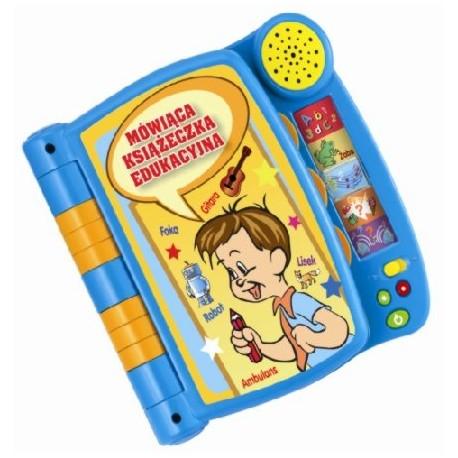 Smily Play - 9019 - Mówiąca Książeczka Edukacyjna