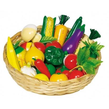 Goki - 51660 - Kosz z Warzywami i Owocami