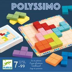 DJECO 08451 - Gra Logiczna - Układanka - POLYSSIMO