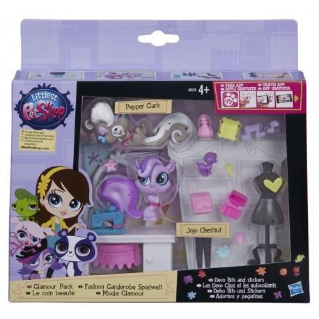 Hasbro - A8539 - Littlest Pet Shop - Zestaw Glamour
