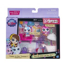 Hasbro - A8541 - Littlest Pet Shop - Bar z lodami