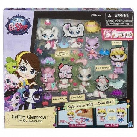 Hasbro - A8218 - Littlest Pet Shop - Zestaw Stylowych Zwierzaków