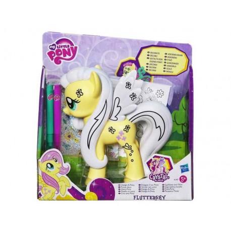 Hasbro - A1387- My Little Pony - Kucyk do dekoracji - Fluttershy