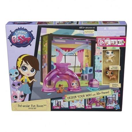 Hasbro - A8543 - A7641 - Littlest Pet Shop - Bawialnia