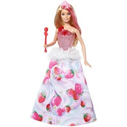 MATTEL DYX27 DYX28 - Barbie w Krainie Dreamtopia - KSIĘŻNICZKA MAGICZNE MELODIE